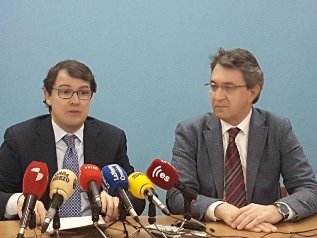 Ponferrada.- Fernández Mañueco y Martínez Majo