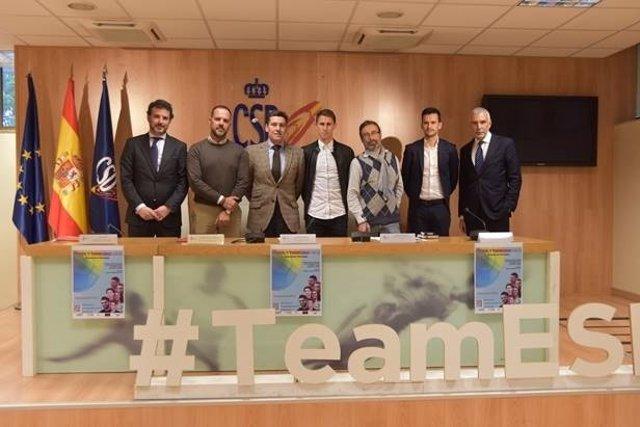 'Fútbol Y Visibilidad LGTBI' Se Presenta En El CSD Para Combatir La Homofobia En