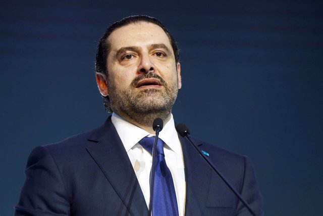 El primer ministro de Líbano, Saad Hariri