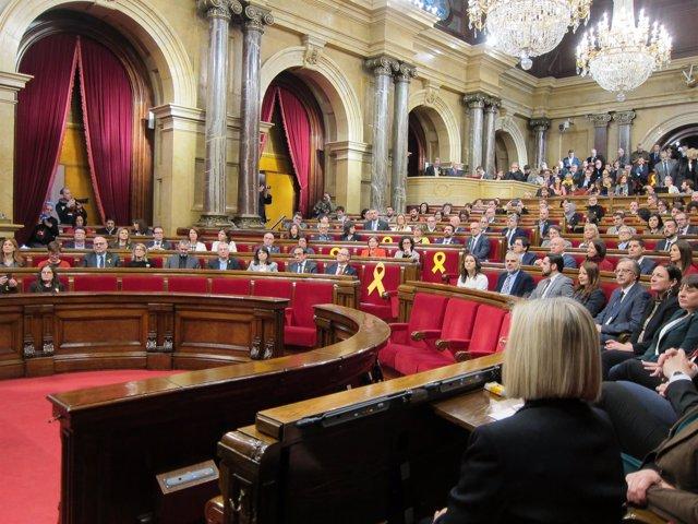 Pleno de constitución del Parlament de la XII Legislatura (ARCHIVO)
