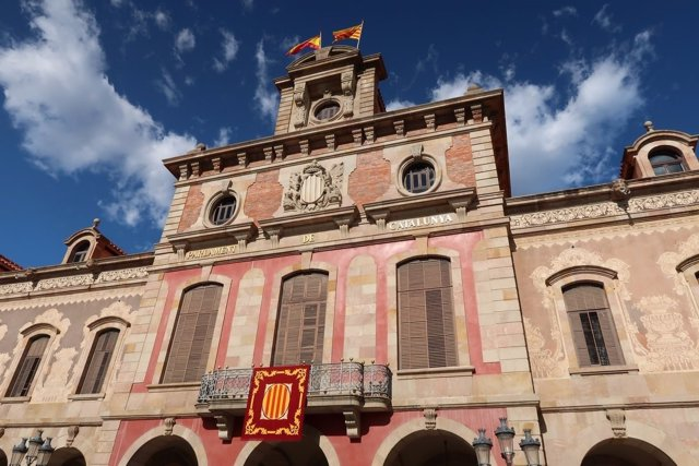 Fachada del Parlament de Catalunya