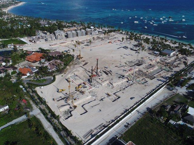 Terrenos sobre los que descansará el nuevo 'resort' de Lopesan en Punta Cana