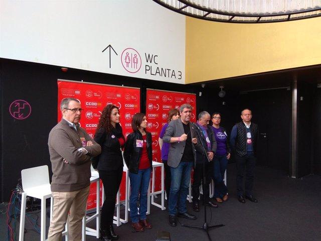 Asamblea CCOO y UGT en València