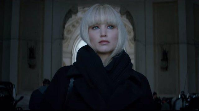 Jennifer Lawrence, una letal espía rusa en el tráiler de Gorrión Rojo