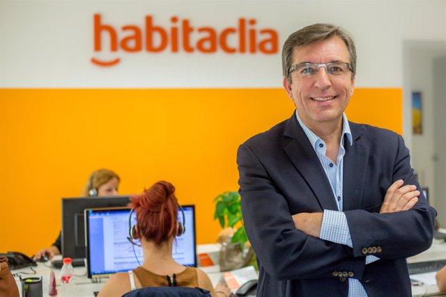 El director general de Habitaclia, Javier Llanas