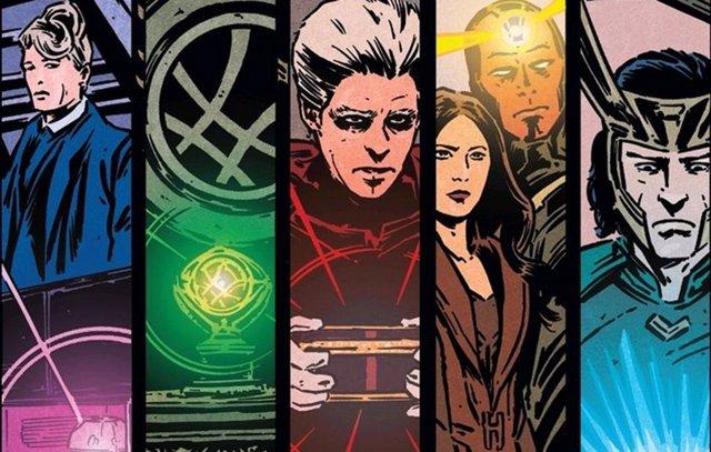 Comic de Vengadores