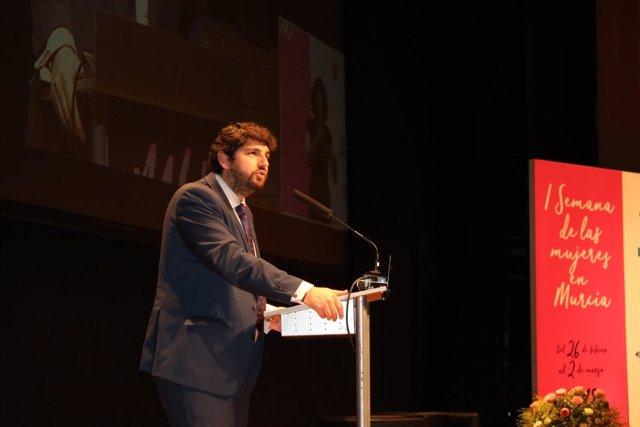 Fotos/ El Presidente Fernando López Miras Inaugura El Se Gundo Ciclo De Ponencia