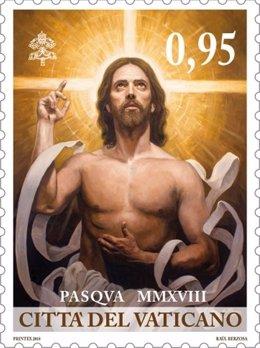 Sello para la Pascua de Resurrección 2018