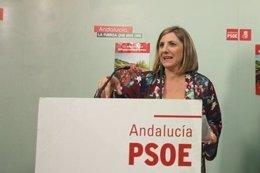 Irene García, secretaria provincial del PSOE de Cádiz en una imagen de archivo