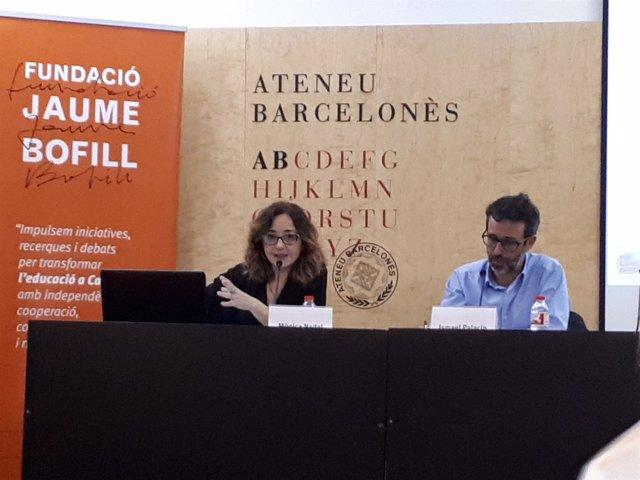 M.Nadal e I.Palacín, Fundació Jaume Bofill