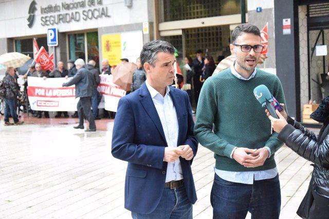 José Carlos Durán en rueda de prensa