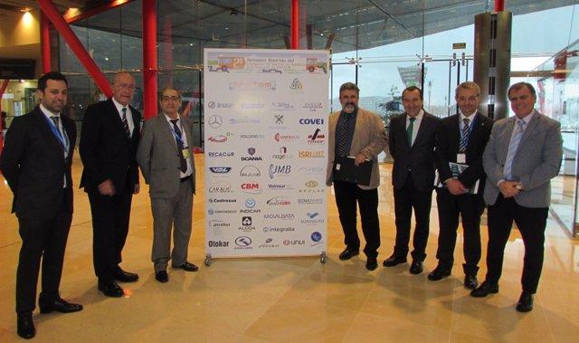 Inauguración de las jornadas de transporte en Málaga