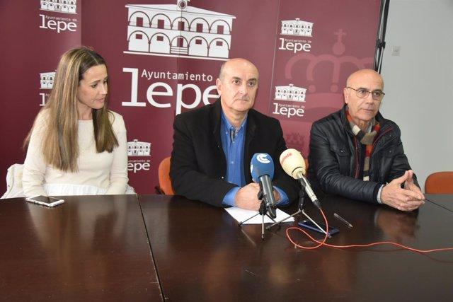El alcalde de Lepe (Huelva), Juan Manuel González.
