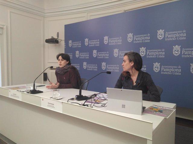 Laura Berro y Zaloa Basabe