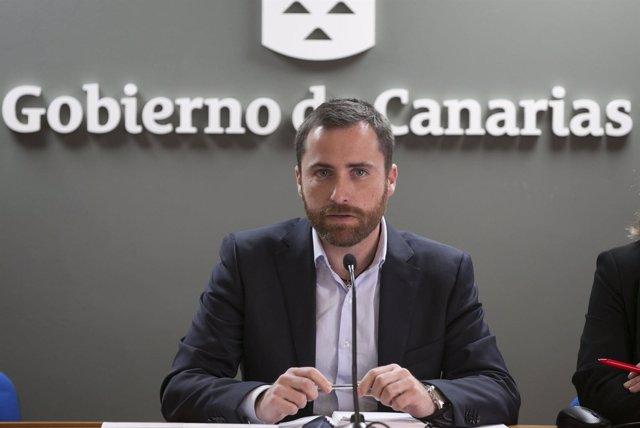 Consejero de Turismo del Gobierno de Canarias, Isaac Castellano