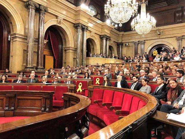Pleno del Parlament de Catalunya