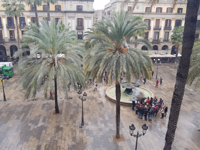 Plaza Reial de Barcelona