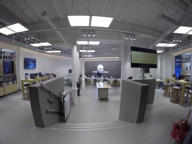 El centro de experencia en Barcelona de Huawei