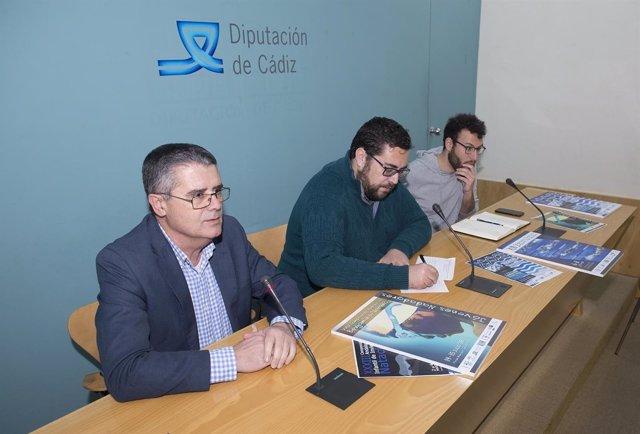 Presentación de campeonatos de natación de Cádiz