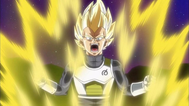 Vegeta en Dragon Ball
