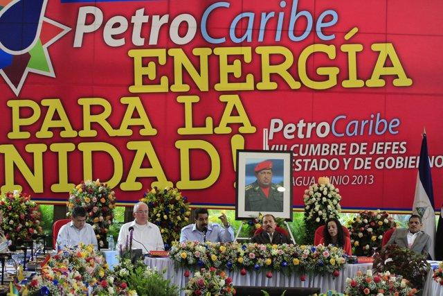 Reunión Petrocaribe en Managua