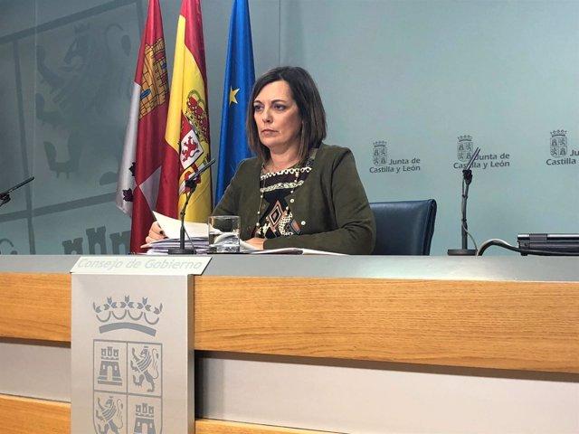 Valladolid. Portavoz en el Consejo de Gobierno