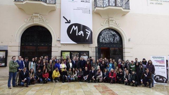 Presentación de Málaga de Festival MAF 2018