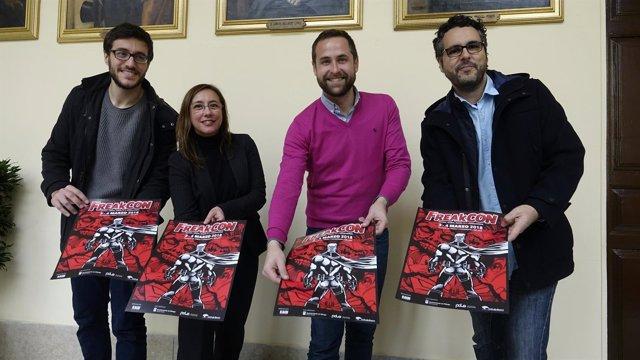 FreakCon Málaga convencion manga anime series cómic animación y videojuegos 2018
