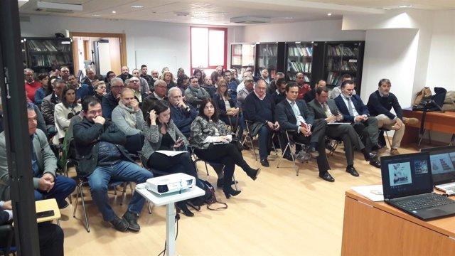 Los empresarios de 'Sabores Almería' se han reunido para coordinar la promoción.