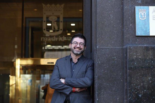 Carlos Sánchez Mato, concejal de Ahora Madrid