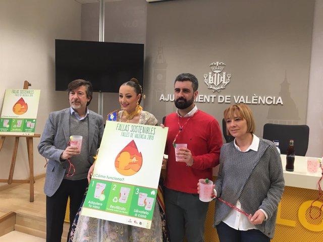 Fernando Álvarez, Rocío Gil, Pere Fuset y Pilar Soriano (de izq. A dcha.)