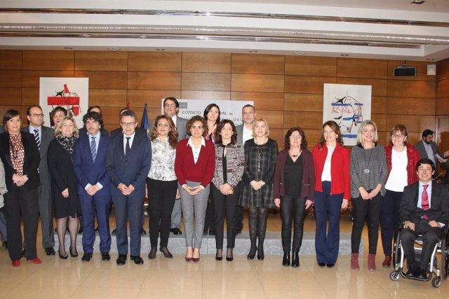 Foto/ Pleno Del Consejo Territorial De Servicios Sociales