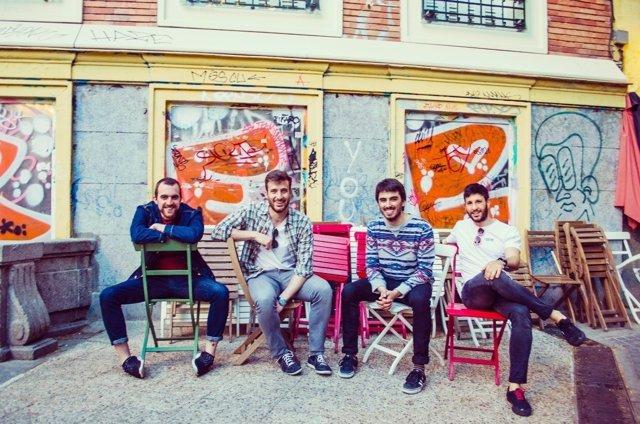 La banda madrileña Yogures de Coco