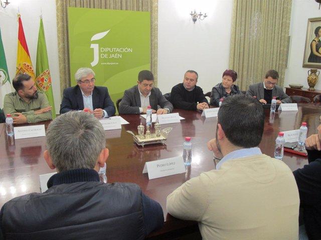 Reunión con alcaldes del Rumblar