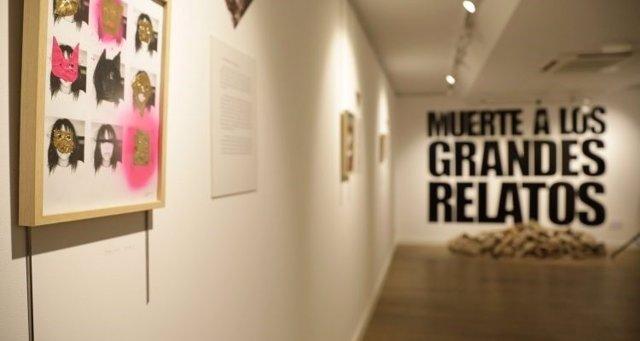 Exposición 'Muerte a los grandes relatos'