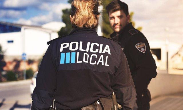 Policía local, agentes, policía, recurso