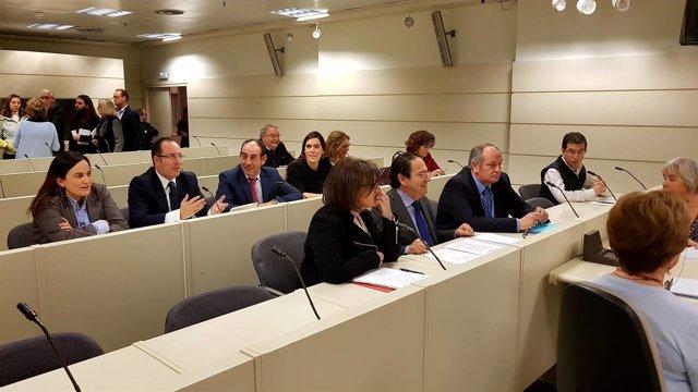 Comisión investigación de partidos politicos en el Senado
