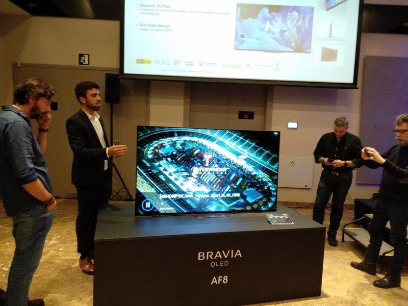 Sony presenta en España sus nuevas gamas de televisores Bravia OLED ...