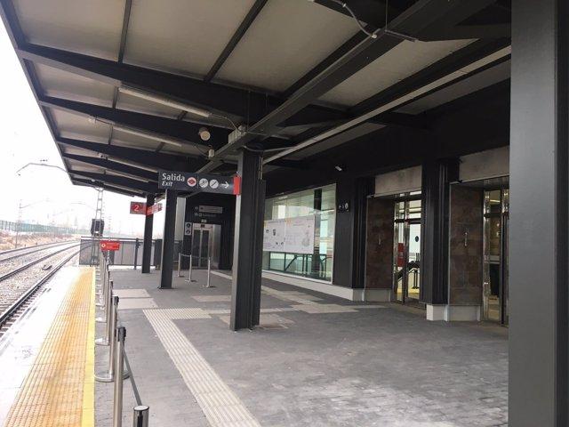 Estación de Cercanías de Madrid Mirasierra-Paco de Lucía