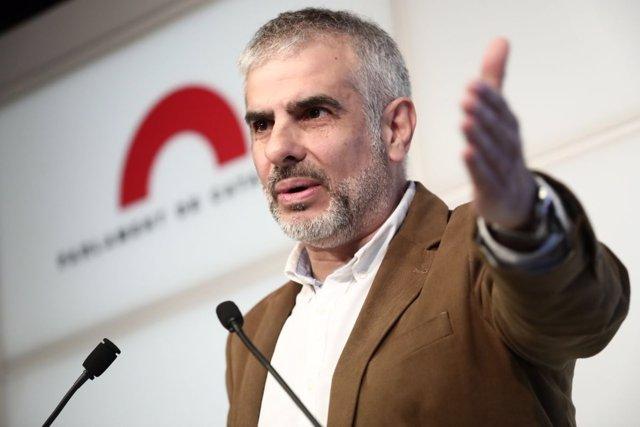El portavoz de Ciudadanos en el Parlamento de Cataluña, Carlos Carrizosa