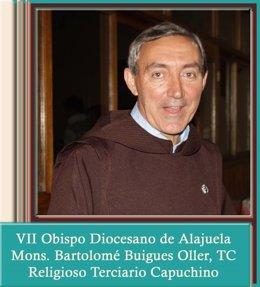 Obispo español Bartolomé Buigues Oller