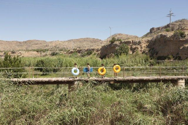 Una de las fotografías de 'El río Invisible', el proyecto de Fragments 2018