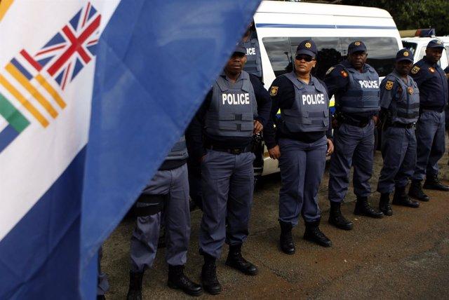 Bandera de Sudáfrica en la época del Apartheid