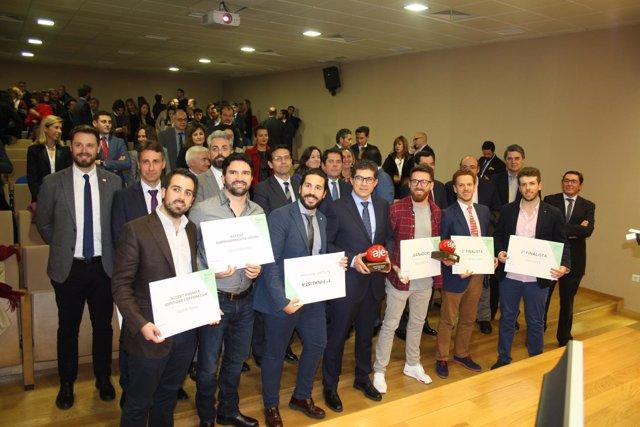Entrega de premios AJE Granada