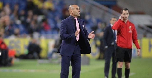 El técnico de la UD Las Palmas, Paco Jémez