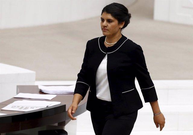 Dilek Ocalan, sobrina de Abdulá Ocalan, líder del PKK