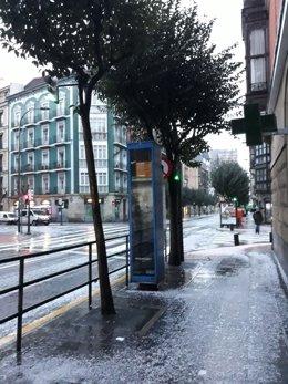 Lluvia, tiempo, Hurtado de Amezaga (Bilbao)