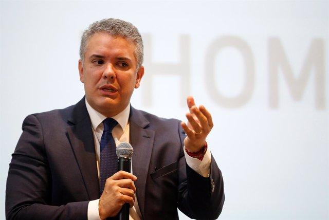 Iván Duque, candidato de Centro Democrático a la Presidencia