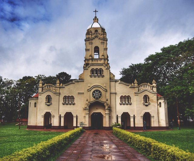 La iglesia de San Ignacio en Paraguay