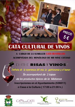 Cata cultural de vinos
